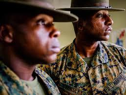 recruit usmc marine marines on instagram drill instructors staff sgt alexander spence 25 of baltimore md left