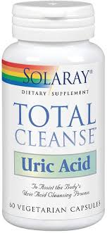 Solaray <b>Total Cleanse Uric Acid</b> VCapsules, 60 Count: Amazon.ca ...