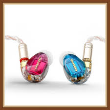 <b>SHOZY</b> & <b>NEO CP RED BLUE</b> 3BA Triple Driver Hybrid HIFI IN Ear ...