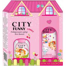 """Отзывы о Подарочный <b>набор</b> для детей <b>City Funny</b> """"Candy"""""""
