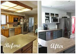 Small Kitchen Makeovers Remodelaholic Grey And White Kitchen Makeover
