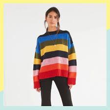 14 Colorfully <b>Striped Sweaters</b> That Are All Over Instagram | Brit + Co