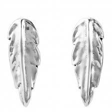 Купить <b>Серьги</b> «<b>Feather</b>» Серебряный ручной работы в бутиках ...