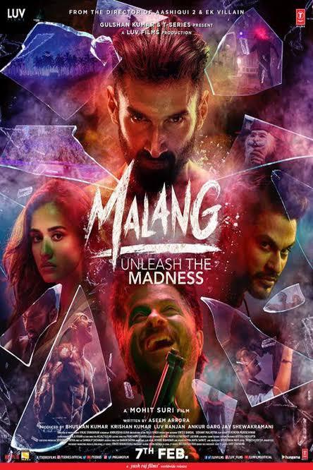 Malang (2020) Hindi Full Movie 720P  HDRip 1GB  Download