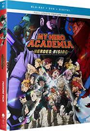My Hero Academia: Heroes Rising [Blu-ray]: Justin ... - Amazon.com