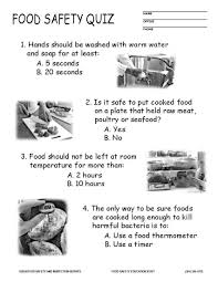food safety quiz this quiz as a handout in color jpg pdf or black and white