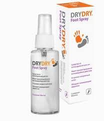 <b>Dry Dry Foot Spray</b> Antiperspirant from sweating 100ml Sweden | eBay
