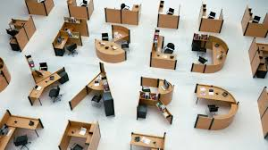 open office cubicles. collect this idea fold yard typographic office desks by benoit challand 2 open cubicles a