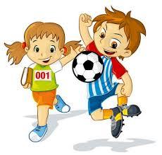Resultado de imagen de dibujos de niños haciendo deporte
