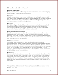 list minor on resume resume example ii limited work experience resume example ii limited work experience samples of resumes