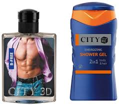Купить <b>Парфюмерный набор CITY</b> Parfum City 3D B-Free по ...