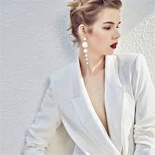 2019 New Fashion <b>Trendy Elegant Created Big</b> Simulated Pearl