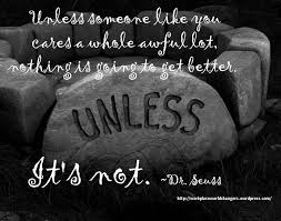 Image result for dr seuss caring quote