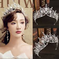 <b>Crown</b> White <b>Bridal Tiaras</b> & Headbands for sale | eBay
