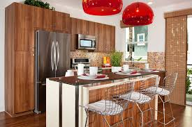 kitchen bar with stools