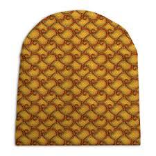 Шапка унисекс с полной запечаткой Горячий <b>орнамент пейсли</b> ...