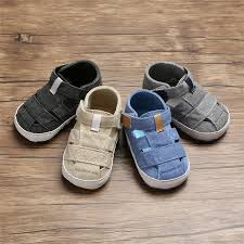 Summer <b>Newborn Baby Boy Girl</b> Soft Sole Crib Shoes Sneaker ...
