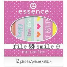 Essence, Пилочка для ногтей File & Smile Mini <b>Nail</b> Files | www ...