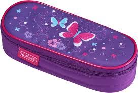 <b>Пенал</b>-<b>косметичка Herlitz Case Butterfly</b>, 50021161 — купить в ...