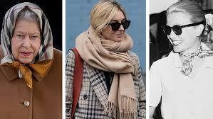 <b>Как завязывать платки</b> и <b>шарфы</b> | Vogue Russia