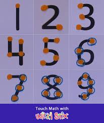 Touch Math using Wikki Stix ManipulativesTouch Math, using Wikki Stix manipulatives for sensory and visual learning