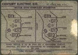 9723 century motor wiring diagram 9723 wiring diagrams century ac motor wiring