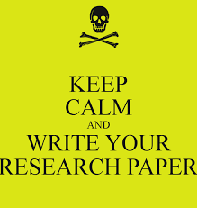 KEEP CALM AND WRITE YOUR RESEARCH PAPER Poster   a   Keep Calm o Matic Keep Calm o Matic