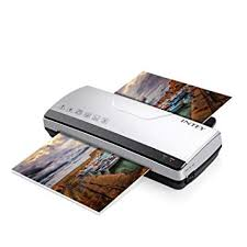 INTEY Thermal Laminator A4 with Two Roller System <b>Fast Warm</b>-up ...