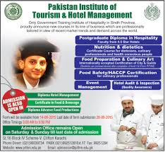 admissions in institute of tourism hotel management 2016 admissions in institute of tourism hotel management diploma certifications