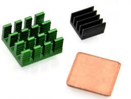 RAAC <b>Heat Sink KIT</b>, Комплект <b>радиаторов</b> для Raspberry Pi 2/3 В ...