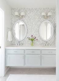 bathroom features gray shaker vanity: in bathroom  in bathroom
