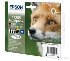 <b>Epson T1285</b> T128540 <b>Multipack</b> M C13T12854010 купить в ...