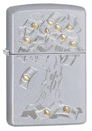 <b>Зажигалка</b> Zippo <b>Money</b> Tree Design 29999 на ZIPPO-RUSSIA.RU