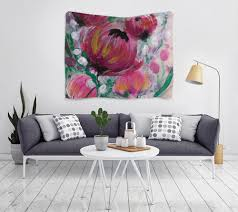 """Гобелен 180х145 """"<b>Полевые цветы</b>"""" #2382838 от d_ari.design ..."""