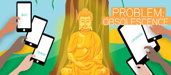 feature essay capitalism buddha and the manufacture of desire obsolescence graphic the buddha smartphones and tablets