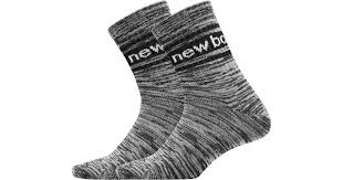 New Balance <b>Evergreen Short Crew</b> Sock 2 Pair in Black for <b>Men</b> ...