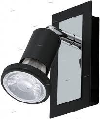 <b>94963 Спот</b>, выключатель на корпусе, черный GU10 <b>Eglo</b> Sarria ...
