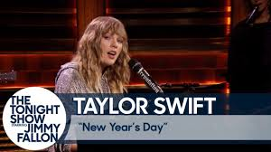 "Taylor Swift Debuts ""<b>New Year's Day</b>"" - YouTube"