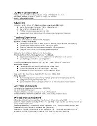 resume for preschool teacher job cipanewsletter cover letter sample resume for preschool teacher sample resume for