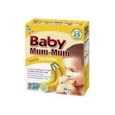 Детское печенье <b>Baby Mum</b>-<b>mum</b> Hot Kid baby <b>Рисовые</b> сухарики ...