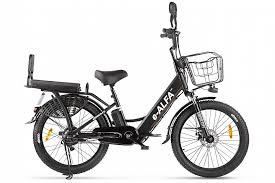 Электрический <b>велогибрид Green City e-Alfa</b> FAT