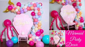 <b>Mermaid Balloon</b> Garland Tutorial | <b>Mermaid</b> DIY <b>Party</b> Decor ...