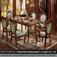 wood carved dining chair suppliers