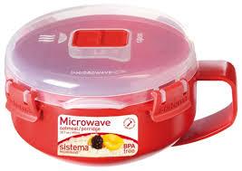 Купить <b>Sistema</b> Чаша для завтрака <b>Microwave</b> 1112 <b>красный</b> по ...