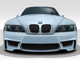 1996 2002 bmw z3 duraflex 1m look front bumper cover 1 piece body kit bmw z3 1996 2002