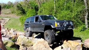 Jeep Rock Crawler Jeep Cherokee Xj Making The Rock Crawl Look Easy Youtube