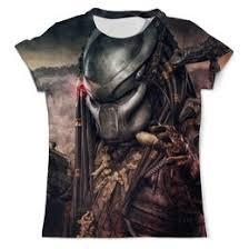 Купить <b>футболки</b> с принтом из фильма Хищник,заказать ...