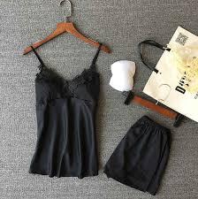 2PCS <b>Women</b> Ladies Sexy Satin Lace <b>Sleepwear</b> Babydoll Lingerie ...