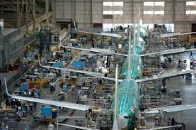 Image result for Boeing 737 Production Floor