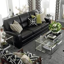 Of Living Rooms With Black Leather Furniture Furniture Fascinating Modern Best Leather Sofa Design Furniture